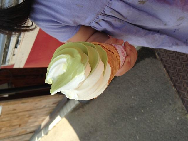 ソフトクリームの画像