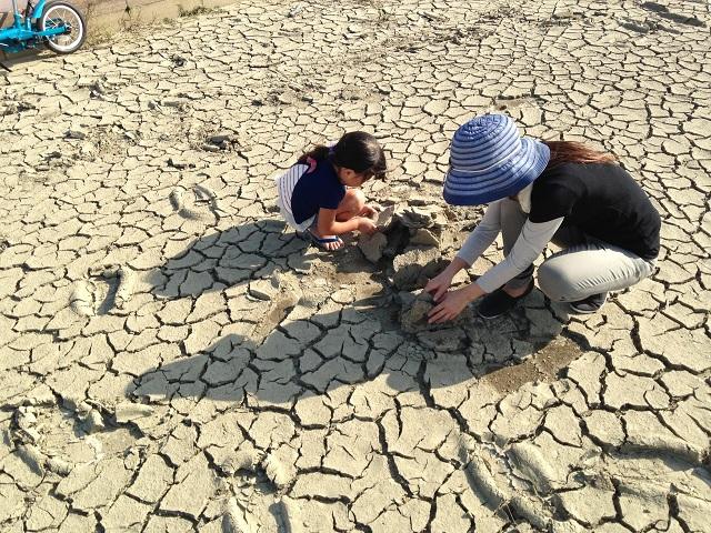 砂遊びの画像