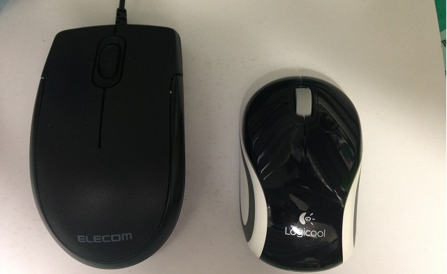 マウスの比較画像