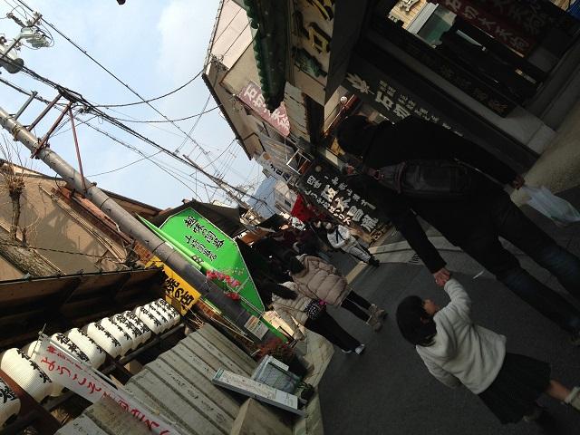石切神社参道の画像