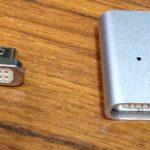 マグネット式充電器