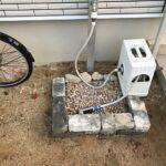 立水栓の排水をDIY